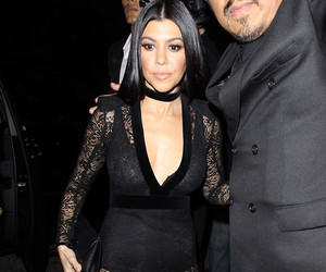 Kourtney Kardashian Attends Justin Bieber's Grammy Party After Hookup Rumors
