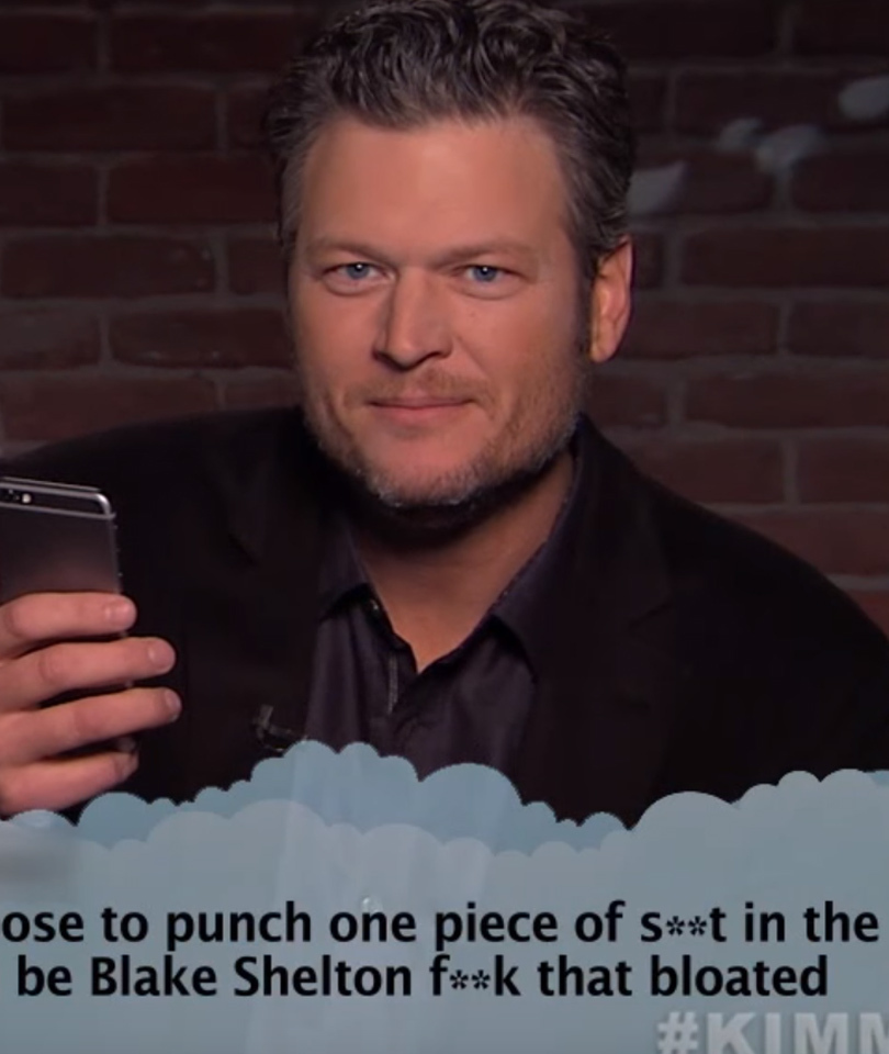 "Blake Shelton, Demi Lovato, Drake & More Musicians Read ""Mean Tweets"" to…"