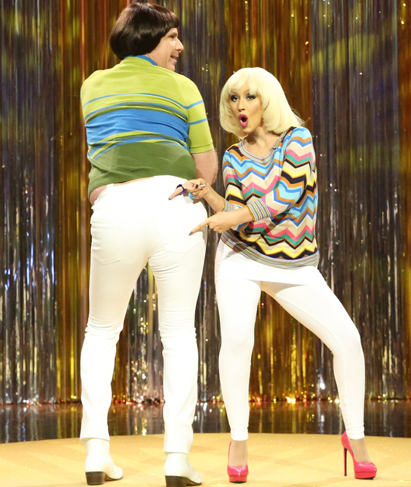 You've Gotta See Christina Aguilera, Will Ferrell and Jimmy Fallon Fight About…