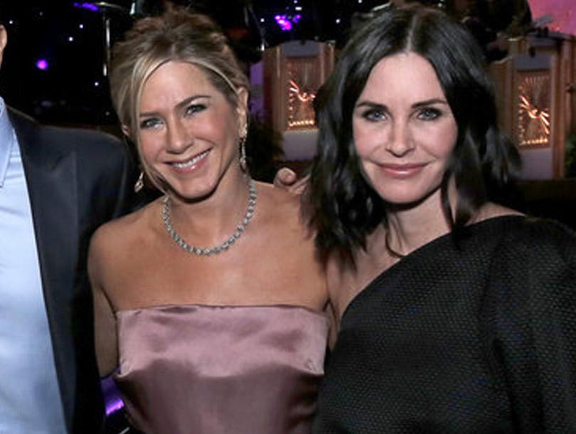 """""""Friends"""" Cast Reunites and Reveals Big Bombshells -- Did They Sign a No Hookup…"""
