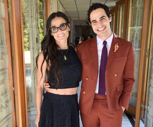 Demi Moore Flashes Her Abs at Zac Posen Luncheon -- See Who Else Turned Up for…
