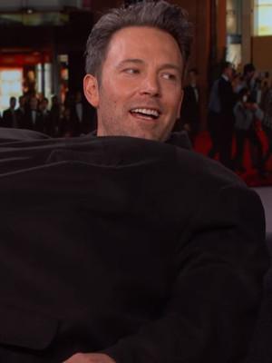 "Ben Affleck Smuggles Matt Damon Into ""Jimmy Kimmel Live"" Interview and Kimmel Is PISSED!"