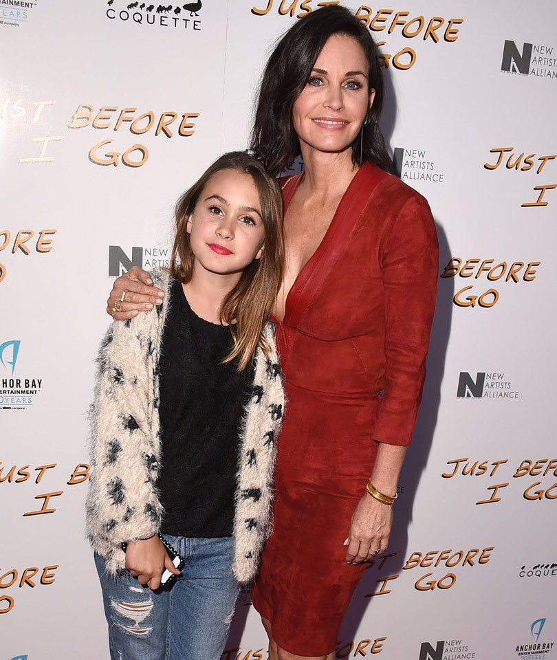 Courteney Cox's Daughter Coco Is So Grown Up -- See Her Hanging Out With Kim…