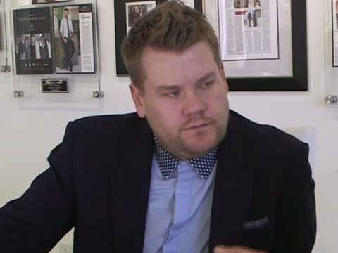 James Corden Hilariously Tries to Sell Tyga a New House -- See His Awful Showing!