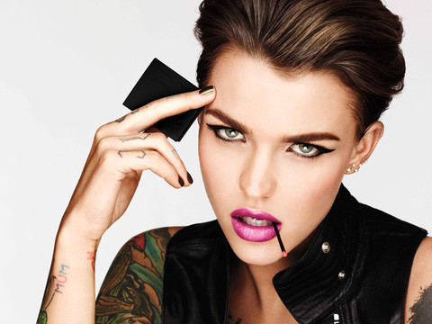 Ruby Rose Nabs Beauty Campaign With Urban Decay -- See Her Fierce First Ad!