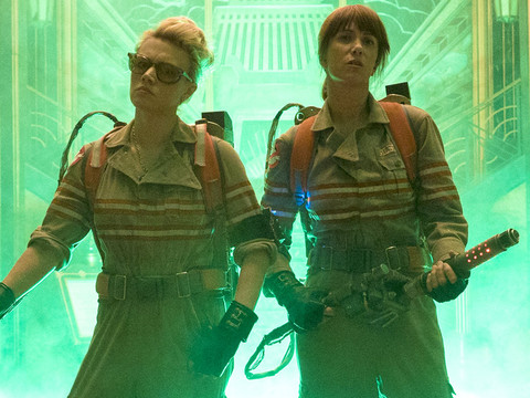 "New ""Ghostbusters"" Trailer Is Finally Here -- And Yes, Slimer's Back!"