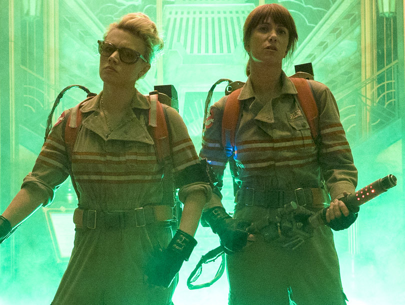 """New """"Ghostbusters"""" Trailer Is Finally Here -- And Yes, Slimer's Back!"""