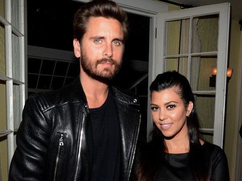 "Scott Disick Comments on Kourtney Kardashian's ""Nips"" After She Posts Sexy Instagram Pic"
