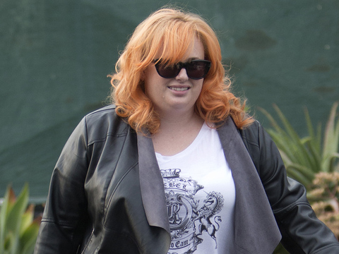 Rebel Wilson Debuts Bright New Orange 'Do -- Like The Look?!