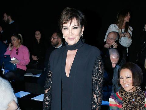 Kris Jenner at Paris Fashion Week -- Fab or Drab?