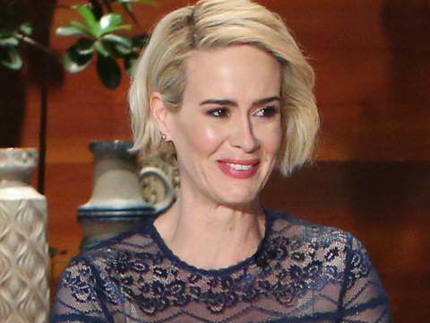 "Sarah Paulson Got Drunk the First Time She Met Marcia Clark: ""The Mole Kept Moving All…"