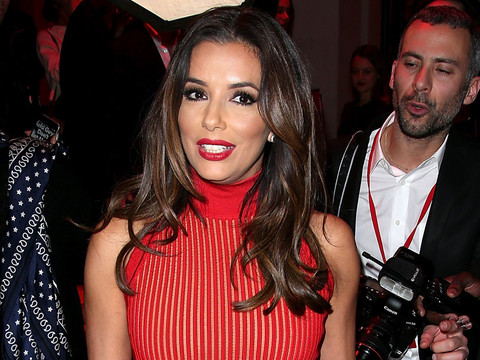 Eva Longoria is Red Hot at L'Oreal Red Obsession Party