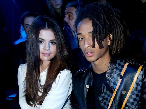 Selena & Jaden Attend the Louis Vuitton Show at Paris Fashion Week
