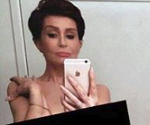 "Sharon Osbourne Goes Totally Nude for Kim Kardashian Copycat Pic -- ""I Did Feel…"