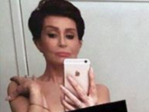 "Sharon Osbourne Goes Totally Nude for Kim Kardashian Copycat Pic -- ""I Did Feel…"