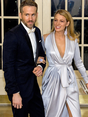 Ryan Reynolds & Blake Lively Go Glam at Canadian State Dinner -- But, Wait Until You See the Obama Sisters!