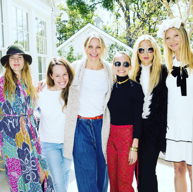 They're All Friends?! See Who Supported Gwyneth Paltrow at Goop by Juice Beauty Launch