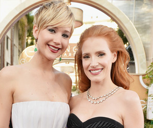 """Jessica Chastain on Those Jennifer Lawrence Feud Rumors: """"This Is a Media Myth…"""