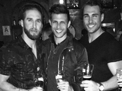 "Not Awkward?! Shawn Booth Hangs with Kaitlyn Bristowe's ""Bachelorette"" Exes"