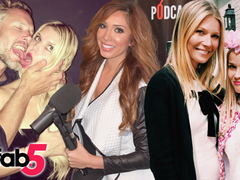 TooFab 5: Farrah Disses Kim, Jessica & Eric Pack on the PDA & More!