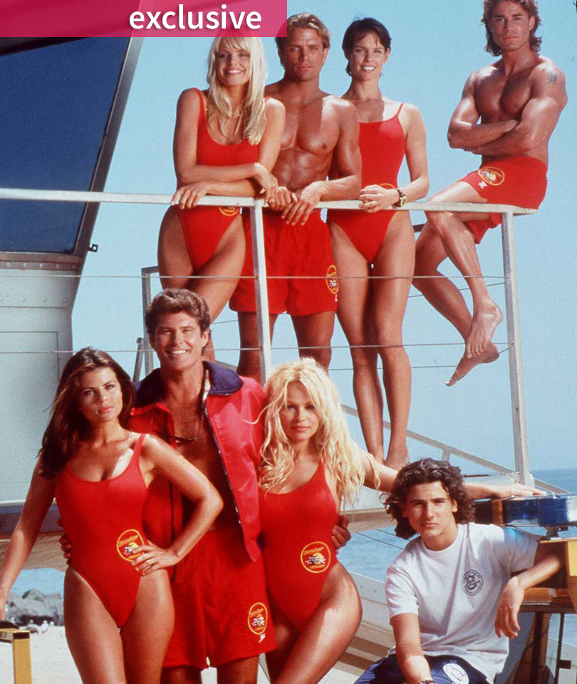 "There Was Just a ""Baywatch"" Reunion -- Which Lifeguards Will Star In ""Sharknado…"