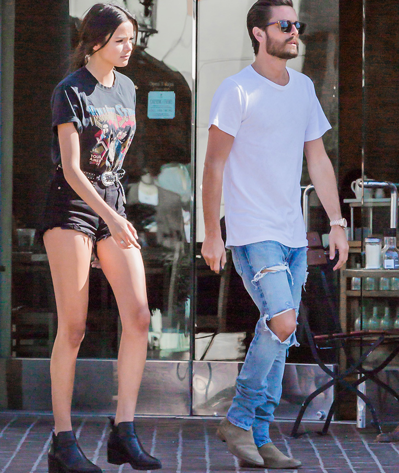 scott disick dating year model looks