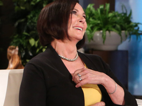 Marcia Clark Squirms As Ellen Grills Her About Romance with Chris Darden