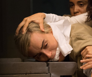 "Taylor Schilling Gets Attacked in New ""Orange Is the New Black"" Pics -- Go…"