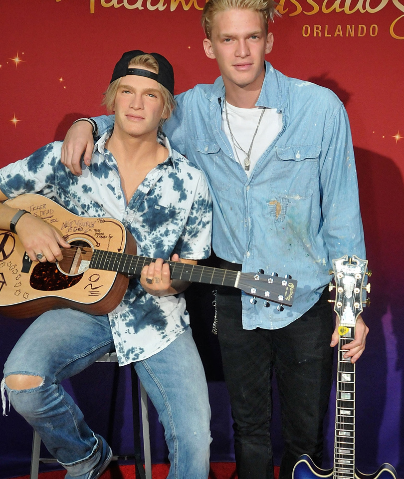 Cody Simpson Gets Waxed -- See More Celebrity Wax Figures!