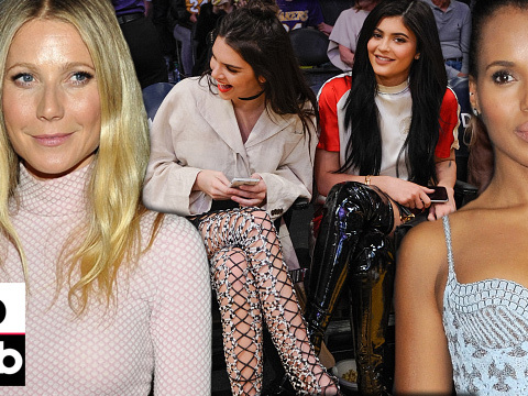 Kendall & Kylie Sport Thigh-High Boots at B-Ball Game -- See This Week's Best &…