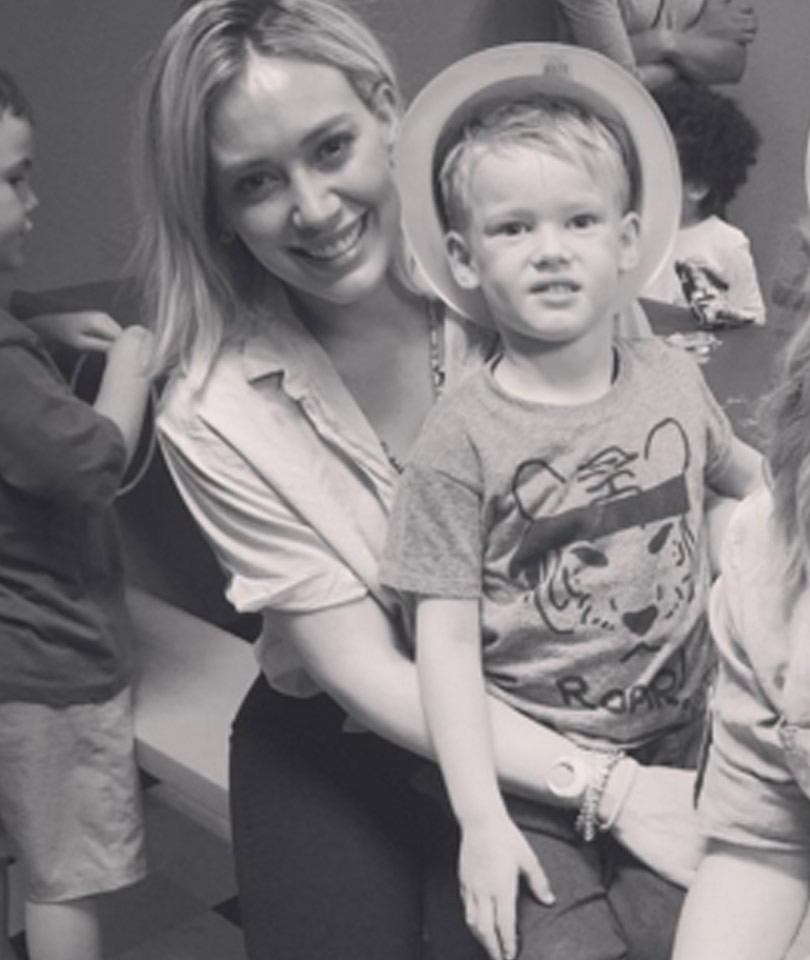 Hilary Duff Celebrates Son's Birthday With Her Ex-Husband and Sister Haylie Duff