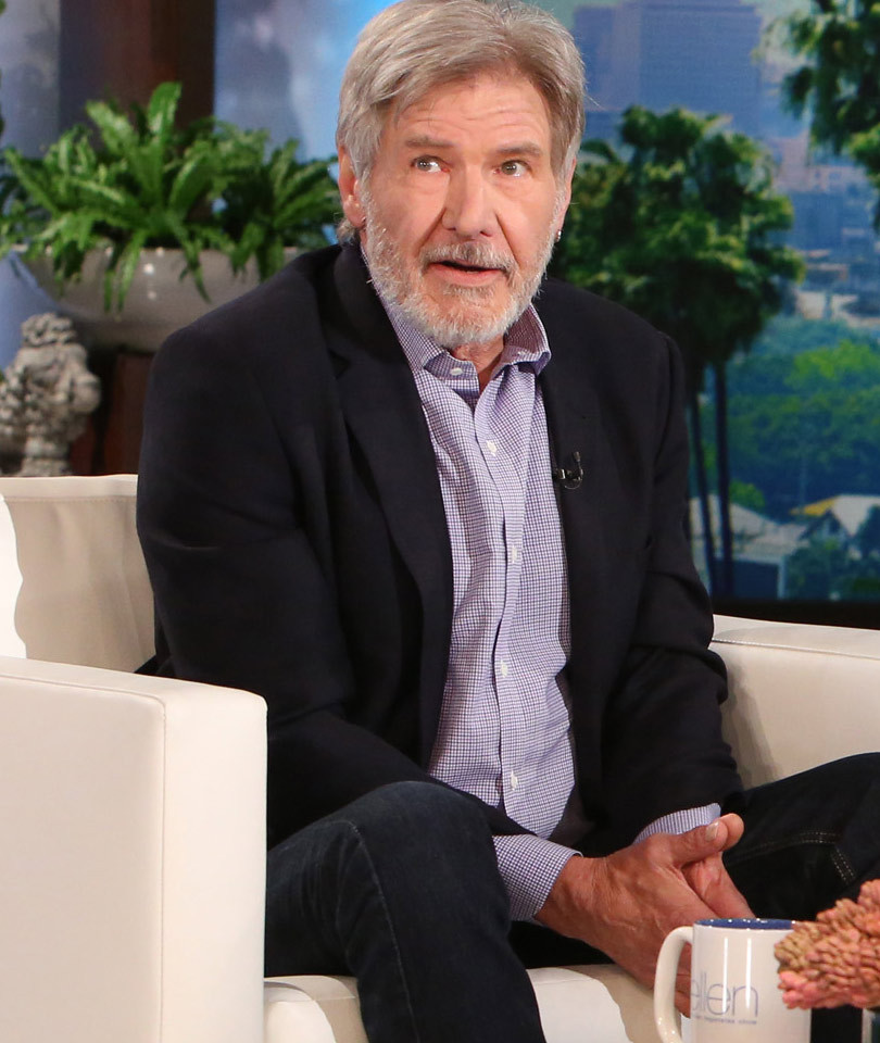 """Harrison Ford Has Advice For the Young Han Solo: """"Don't Do It"""""""