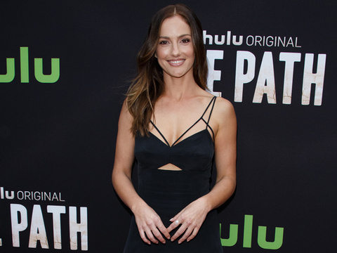 "Minka Kelly Steals The Spotlight On Red Carpet For Premiere of Hulu's ""The Path"""