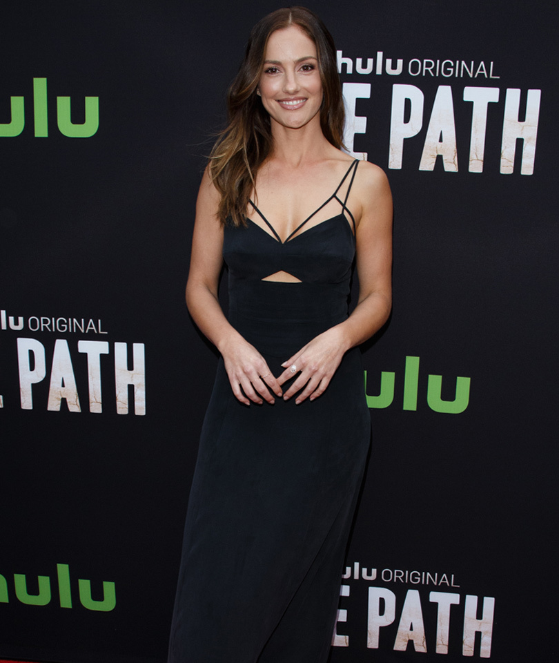 """Minka Kelly Steals The Spotlight On Red Carpet For Premiere of Hulu's """"The Path"""""""