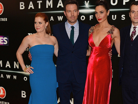 "The Cast of ""Batman v. Superman"" Hit the Red Carpet In London"