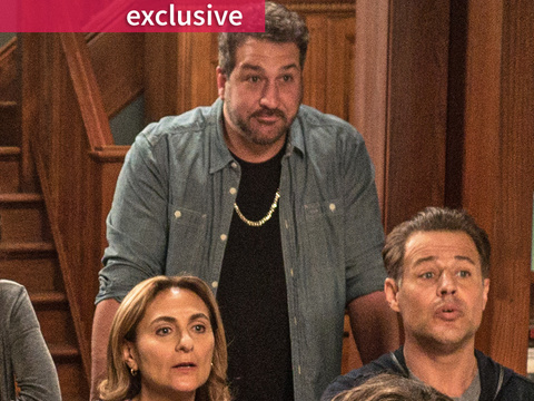 "Joey Fatone Talks ""Greek Wedding 2"" Surprise -- And Having a Daughter Going Through…"