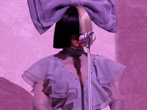Sia Opens Up About Those Wigs -- See What She's Hiding Under There!