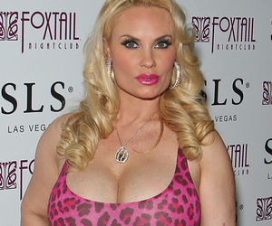 Coco Austin Almost Pops Out of Her Dress Celebrating Her B-Day In Las Vegas