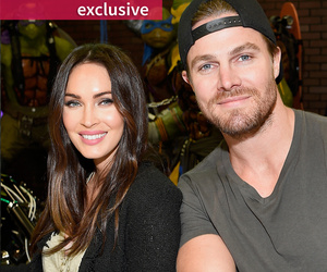 """Megan Fox & Stephen Amell Talk """"TMNT 2"""" -- And Whether Their Kids Will Be…"""