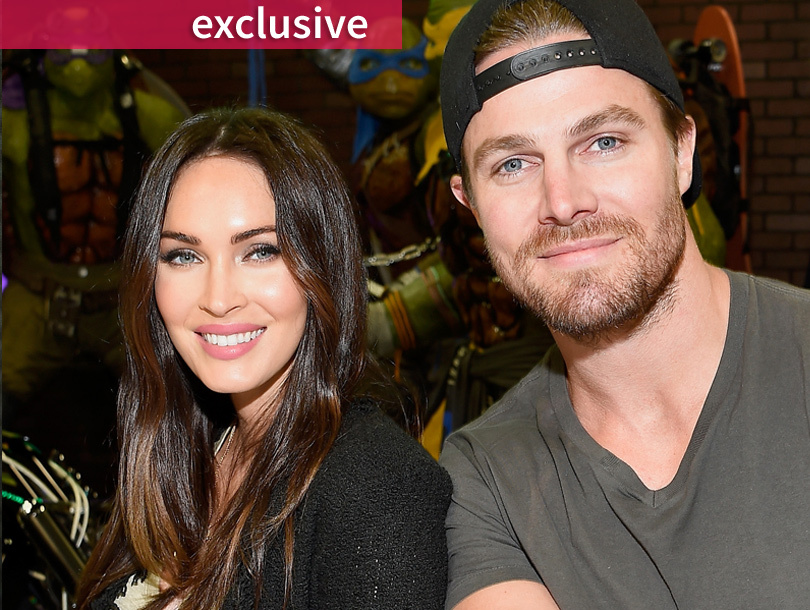 "Megan Fox & Stephen Amell Talk ""TMNT 2"" -- And Whether Their Kids Will Be…"