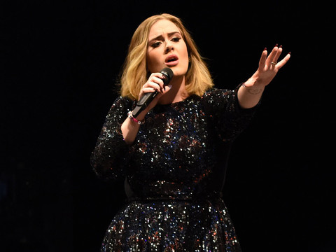 "Adele Says She Grew a Beard While She Was Pregnant, Named It ""Larry"""
