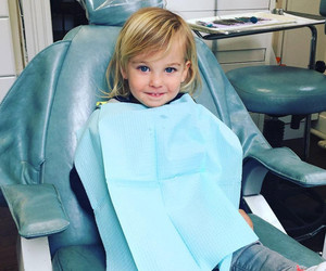 Olivia Wilde Shares Adorable Pic of Son Otis at the Dentist -- He's SO Big Now!