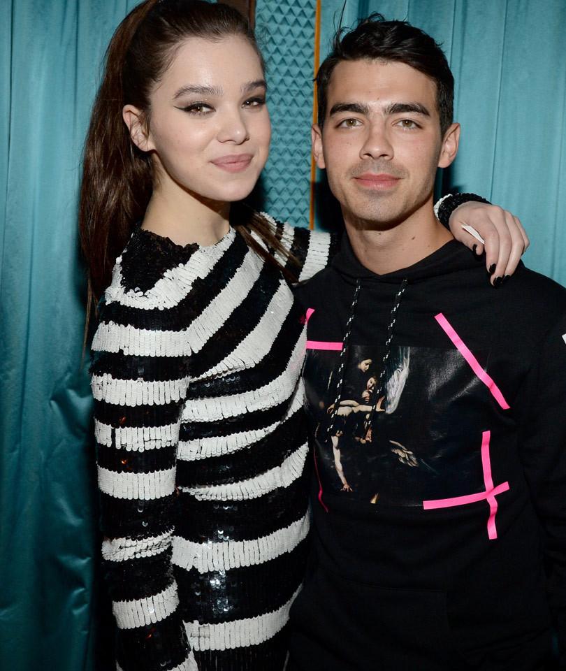Joe Jonas Pranks Hailee Steinfeld By Pretending to Be a Creepy Fan -- He Wants…