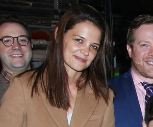 """Katie Holmes Takes Suri to Meet The Cast of """"School of Rock"""" -- See the Cute…"""