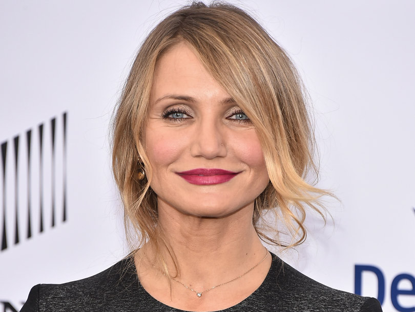 Cameron Diaz, 43, Goes Makeup-Free to Prove That She's an Ageless Beauty