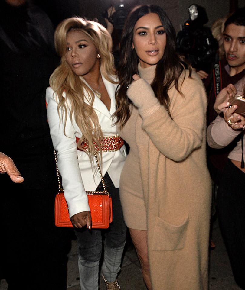 "Kim Kardashian and Lil' Kim Do Their Own Version of ""Carpool Karaoke"""
