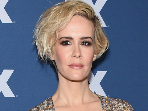 Say What?! Sarah Paulson Reveals She Got Hooked on Cigarettes While Playing Marcia Clark!