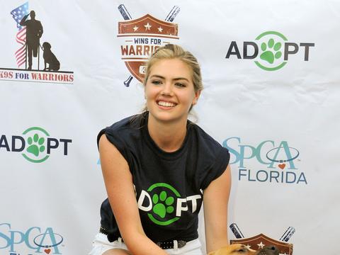 Kate Upton Hosts Grand Slam Adoption Event & More Hot Hollywood Photos!