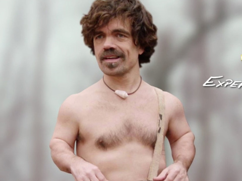 "Peter Dinklage Does ""Naked & Afraid"" on SNL, as Blake Shelton Cheers On Gwen's Cameo"