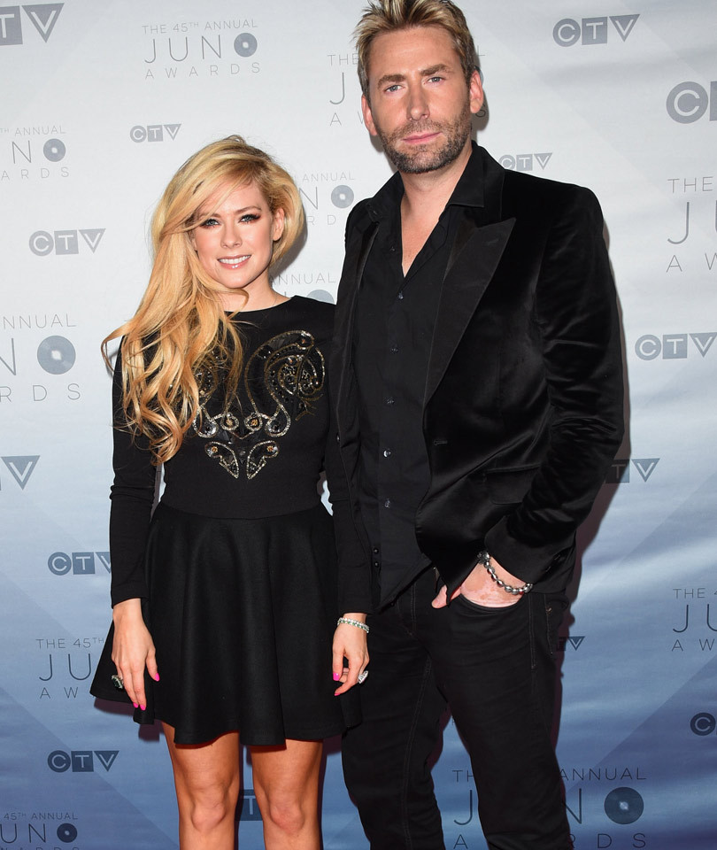Avril Lavigne and Chad Kroeger Fuel Romance Rumors (Again!) at 2016 Juno Awards